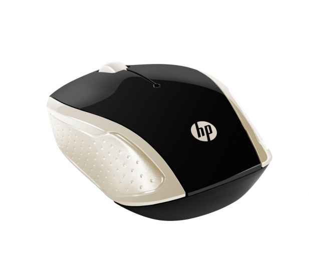 HP Wireless Mouse 200 Silk Gold - 419759 - zdjęcie 2