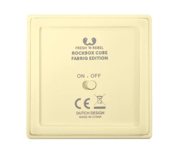 Fresh N Rebel Rockbox Cube Fabriq Edition Buttercup - 420988 - zdjęcie 4