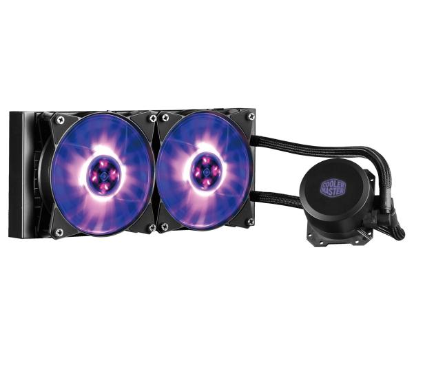 Cooler Master MasterLiquid ML240L RGB 2x120mm - 422728 - zdjęcie