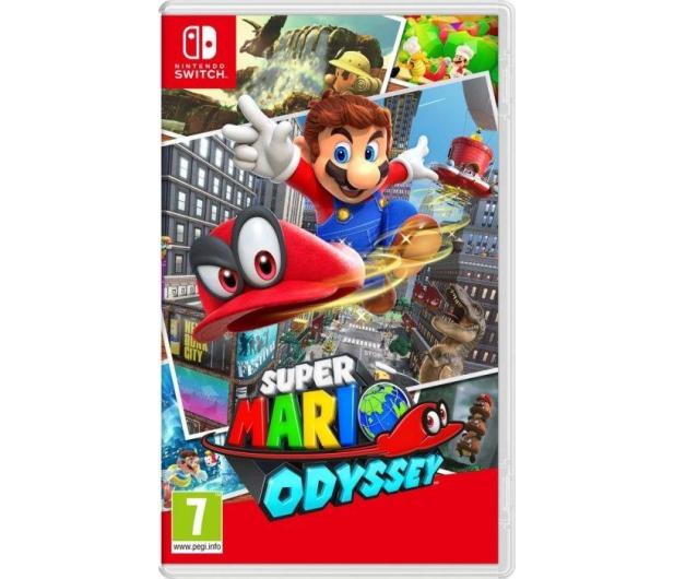 Nintendo Switch Neon + Splatoon 2 + Mario Odyssey - 420744 - zdjęcie 2