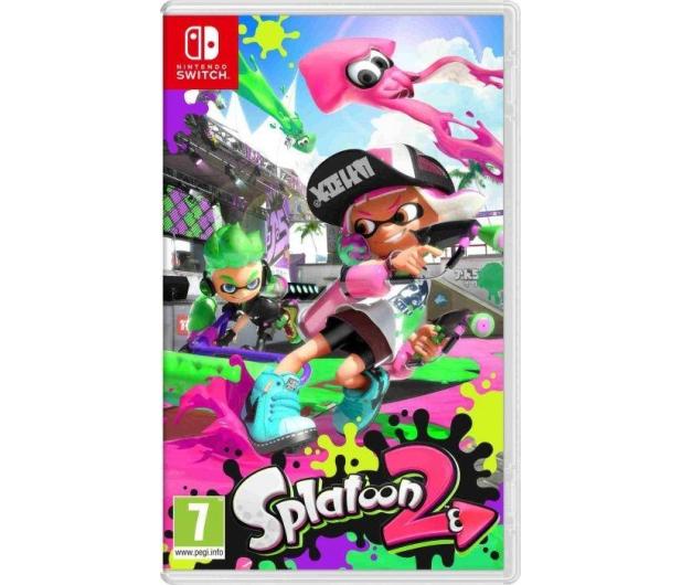 Nintendo Switch Neon + Splatoon 2 + Mario Odyssey - 420744 - zdjęcie 3