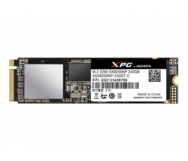 ADATA 240GB M.2 PCIe XPG SX8200 - 421186 - zdjęcie 2