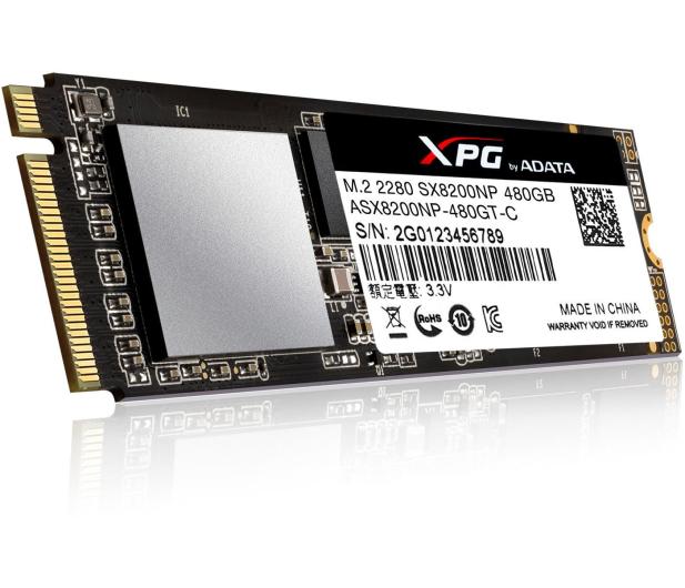 ADATA 480GB M.2 PCIe XPG SX8200  - 421187 - zdjęcie 3