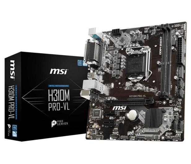 MSI H310M PRO-VL - 422517 - zdjęcie