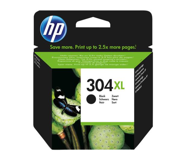 HP 304XL black 300 str. - 423473 - zdjęcie