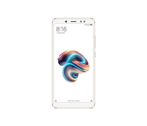 Xiaomi Redmi Note 5 3/32GB Gold - 428385 - zdjęcie 2