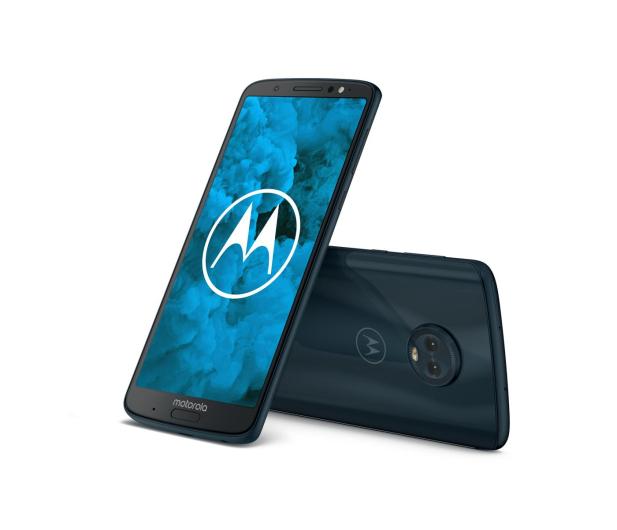 Motorola Moto G6 Plus 4/64GB Dual SIM granatowy + etui - 410741 - zdjęcie 6