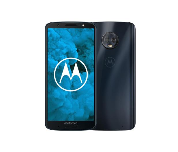 Motorola Moto G6 Plus 4/64GB Dual SIM granatowy + etui - 410741 - zdjęcie