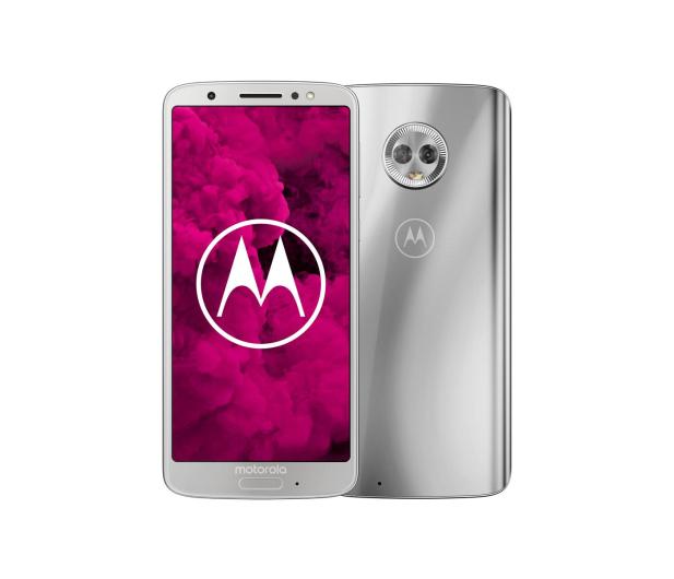 Motorola Moto G6 3/32GB Dual SIM srebrny + etui - 410737 - zdjęcie
