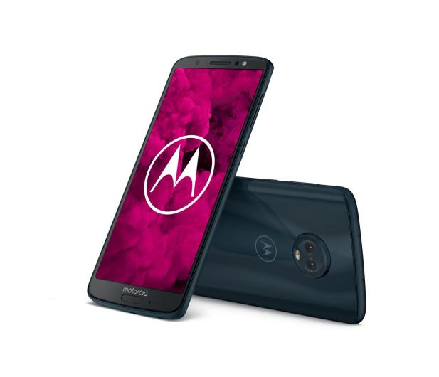 Motorola Moto G6 3/32GB Dual SIM granatowy + etui + 32GB - 483085 - zdjęcie 7