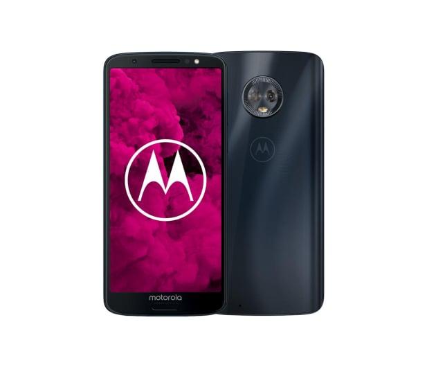 Motorola Moto G6 3/32GB Dual SIM granatowy + etui - 410736 - zdjęcie