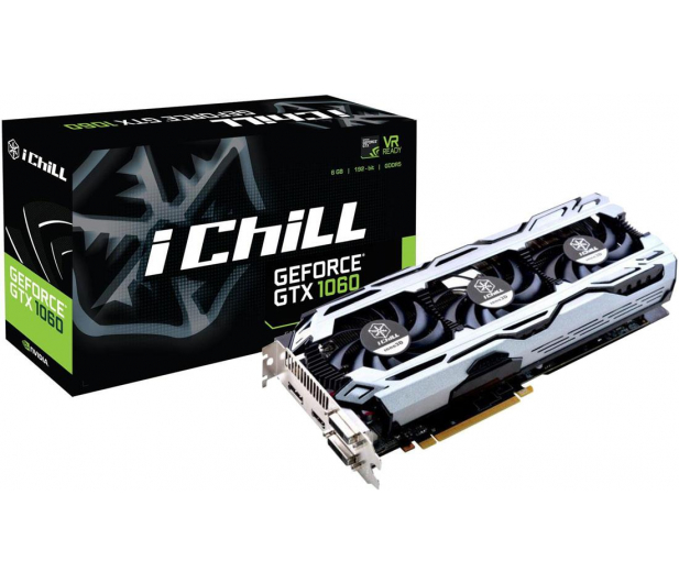 Inno3D GeForce GTX 1060 IChill X3 V2 6GB GDDR5 - 392373 - zdjęcie