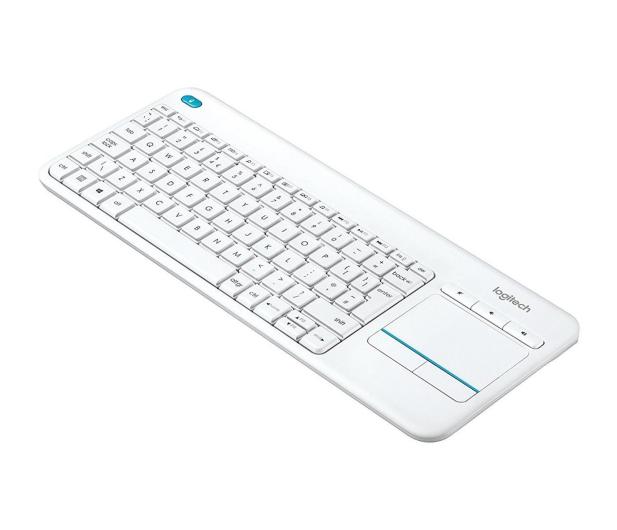 Logitech Wireless Touch K400 Plus biała - 276511 - zdjęcie 2