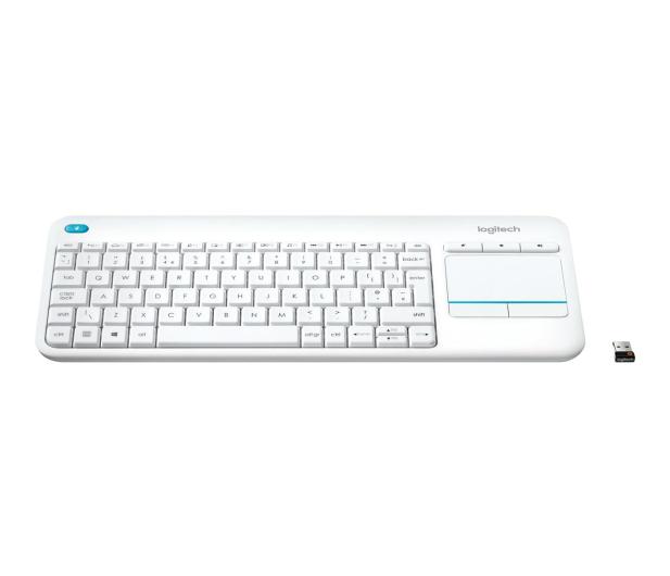 Logitech Wireless Touch K400 Plus biała - 276511 - zdjęcie 3