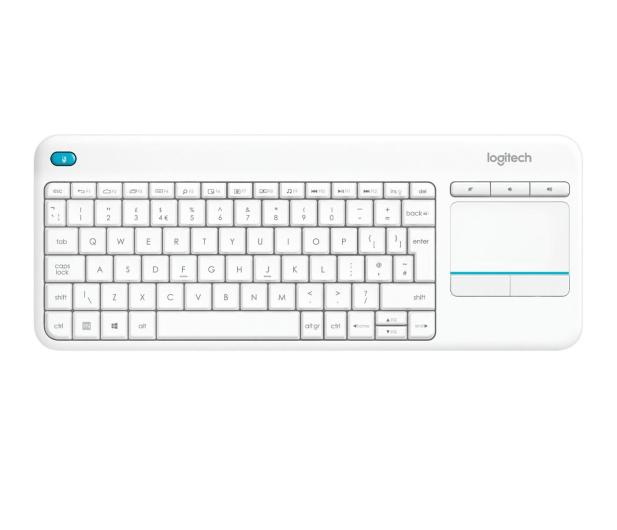 Logitech Wireless Touch K400 Plus biała - 276511 - zdjęcie
