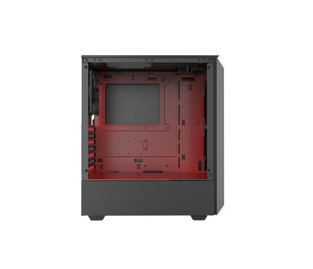 Phanteks Eclipse P300 Tempered Glass czerwony/czarny - 428337 - zdjęcie 2