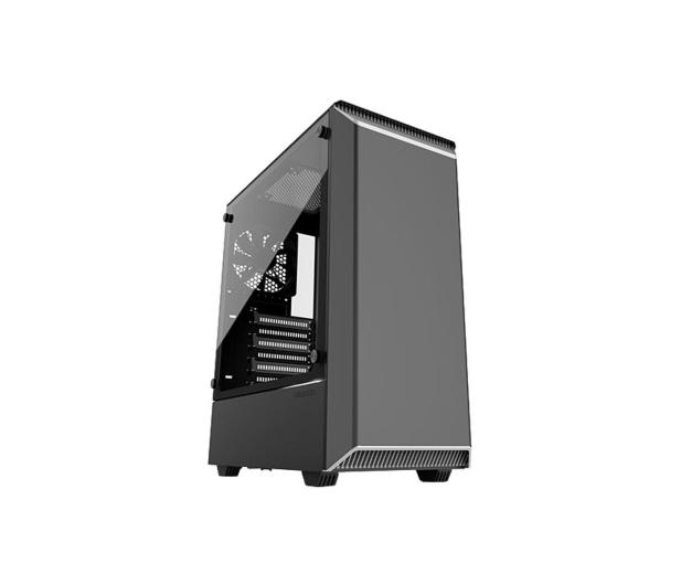 Phanteks Eclipse P300 Tempered Glass biały/czarny - 428335 - zdjęcie