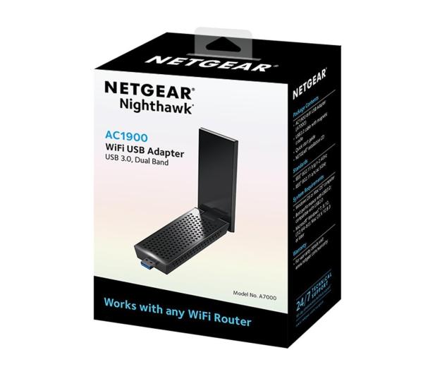 Netgear A7000-100PES (802.11a/b/g/n/ac 1900Mb/s)  - 427536 - zdjęcie 3