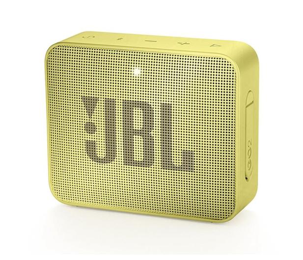 JBL GO 2 Żółty - 427975 - zdjęcie 6