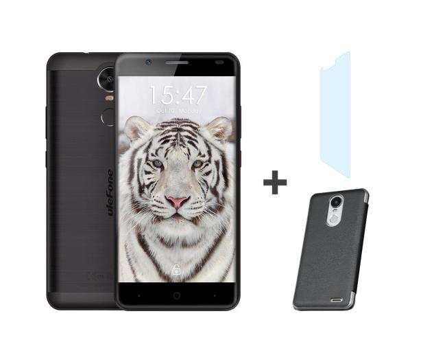 uleFone Tiger 2/16GB Dual SIM LTE 4200mAh czarny + zestaw - 409551 - zdjęcie