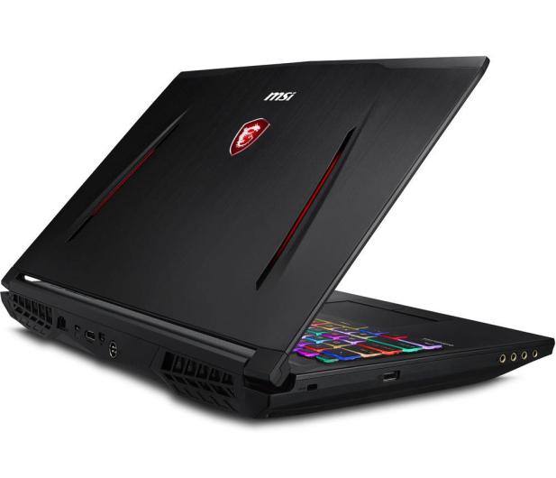 MSI GT63 i7-9750H/16GB/512+1TB/Win10 RTX2070 4K - 508988 - zdjęcie 7
