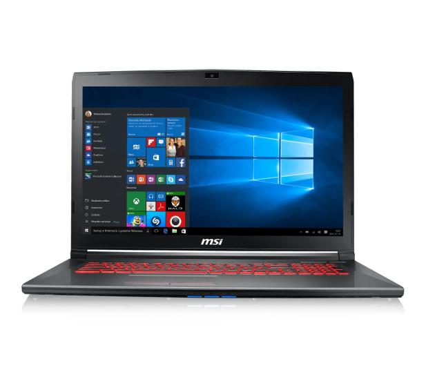 MSI GV72 i7-8750H/8GB/1TB/Win10X GTX1060 120Hz  - 447787 - zdjęcie 2