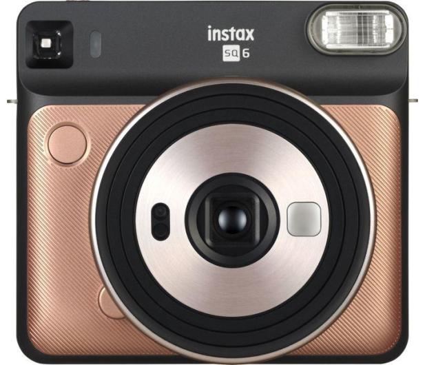 Fujifilm Instax SQ 6 czarno-złoty  - 430990 - zdjęcie