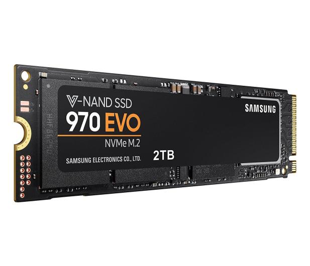 Samsung 2TB M.2 PCIe NVMe 970 EVO - 431148 - zdjęcie 2