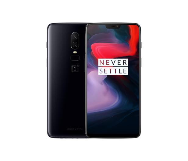 OnePlus 6 6/64GB Dual SIM Mirror Black - 431099 - zdjęcie