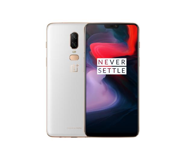 OnePlus 6 8/128GB Dual SIM Silk White - 431102 - zdjęcie