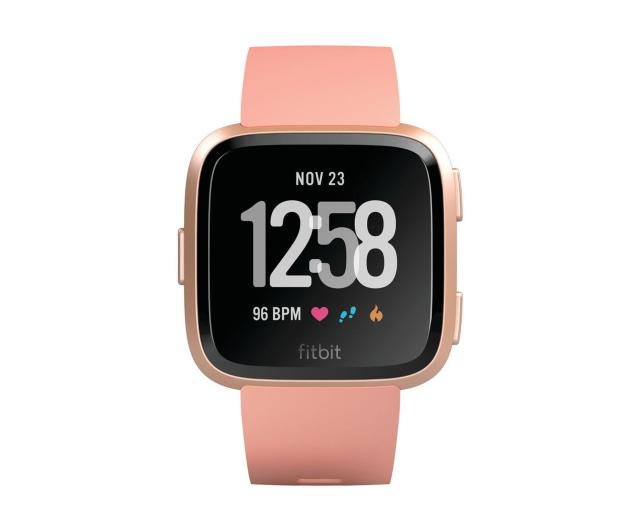 Fitbit Versa Brzoskwiniowy - 429971 - zdjęcie 2