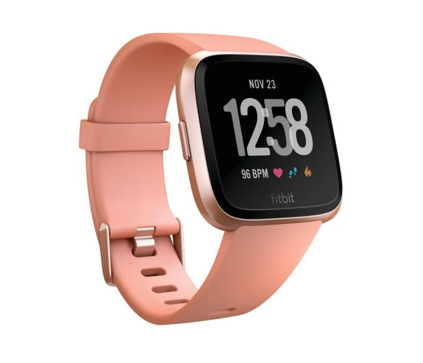 Fitbit Versa Brzoskwiniowy - 429971 - zdjęcie