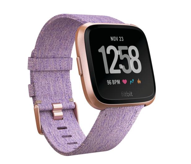 Fitbit Versa Lawendowy Special Edition  - 429976 - zdjęcie