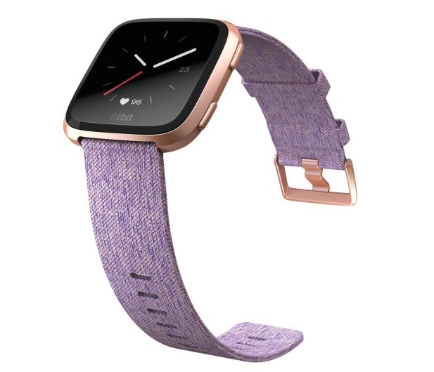 Fitbit Versa Lawendowy Special Edition  - 429976 - zdjęcie 2