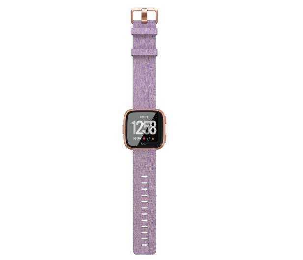 Fitbit Versa Lawendowy Special Edition  - 429976 - zdjęcie 4