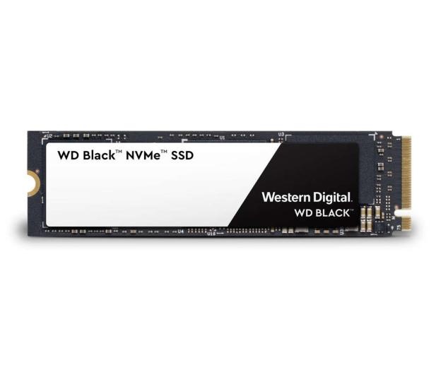 WD 250GB M.2 2280 PCI-E SSD Black - 429576 - zdjęcie