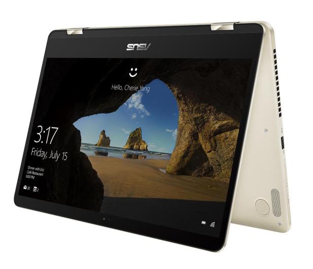 ASUS ZenBook Flip UX461 i5-8250U/8GB/256GB/Win10 złoty - 430994 - zdjęcie 6