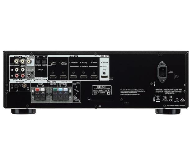 Denon AVR-X250BT czarny - 432060 - zdjęcie 2