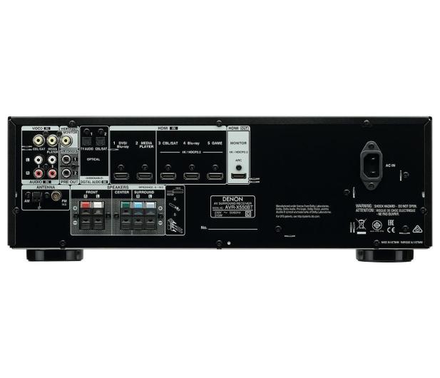 Denon AVR-X550BT czarny - 454378 - zdjęcie 3