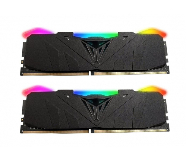 Patriot 16GB (2x8GB) 3200MHz CL16 Viper RGB LED Black - 432092 - zdjęcie