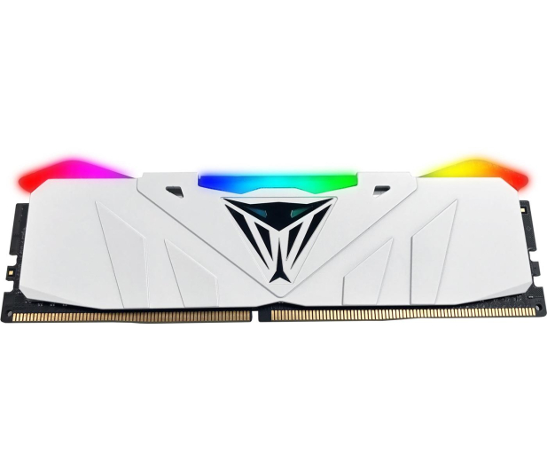 Patriot 16GB (2x8GB) 3200MHz CL16 Viper RGB LED White - 432101 - zdjęcie 3