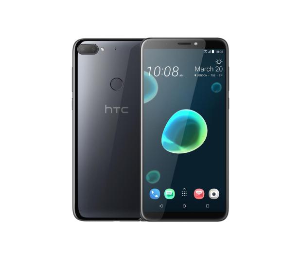 HTC Desire 12+ 3/32GB Dual SIM czarny  - 431267 - zdjęcie