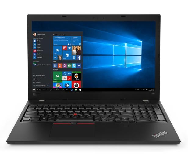 Lenovo ThinkPad L580 i7-8550U/16GB/256/Win10Pro  - 503193 - zdjęcie 3