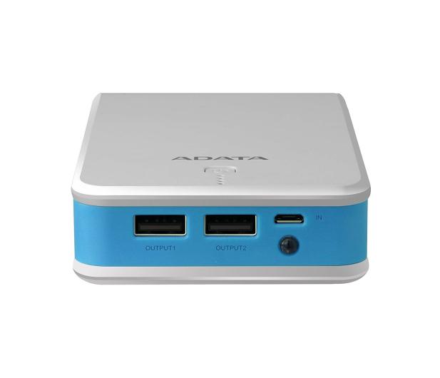 ADATA Power Bank P20100 20100 mAh 2.1A (biało-niebieski) - 426259 - zdjęcie 4