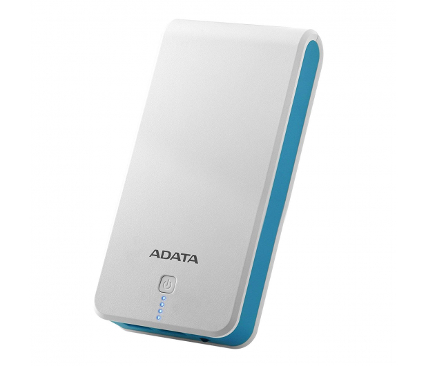 ADATA Power Bank P20100 20100 mAh 2.1A (biało-niebieski) - 426259 - zdjęcie