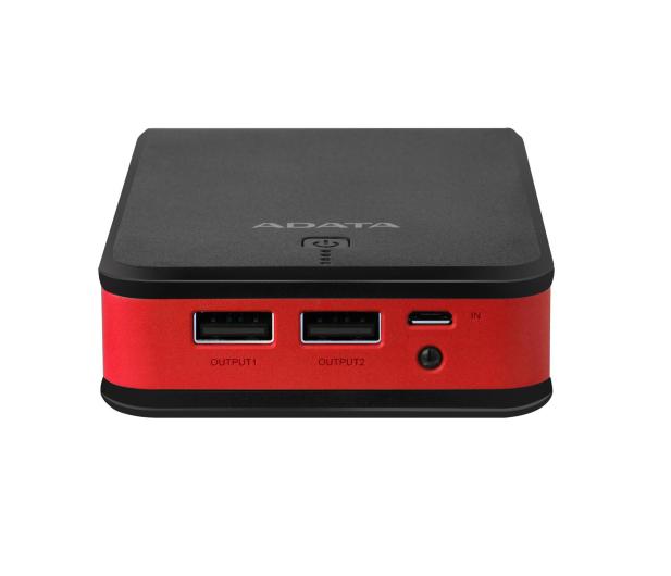 ADATA Power Bank P20100 20100 mAh 2.1A (czarno-czerwony) - 426257 - zdjęcie 4