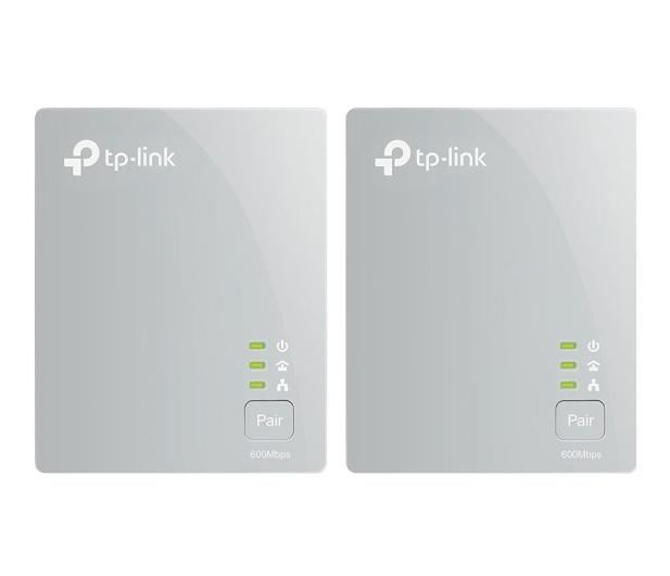 TP-Link TL-PA4010 KIT PowerLine 600Mb/s (2 sztuki) - 169540 - zdjęcie