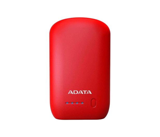 ADATA Power Bank P10050 10050 mAh 2.4A (czerwony) - 427672 - zdjęcie