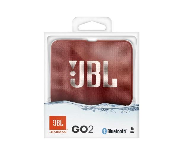 JBL GO 2 Czerwony - 427974 - zdjęcie 5