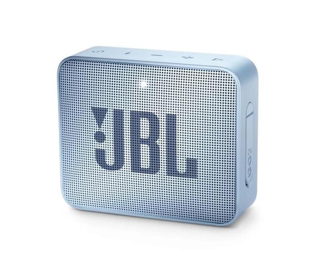 JBL GO 2 Błękitny - 427914 - zdjęcie 4